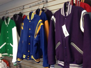 We have jackets for all local schools! Come in and make your special!